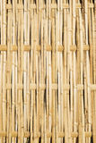 bamboo сплетенная панель загородки Стоковое фото RF