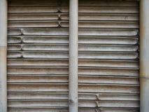 bamboo старая стена Стоковое Изображение