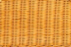 bamboo текстура корзины Стоковое Фото