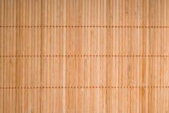 bamboo текстура циновки Стоковые Фотографии RF