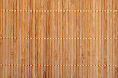 bamboo циновка Стоковое Изображение RF