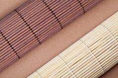 Bamboo циновки стоковая фотография
