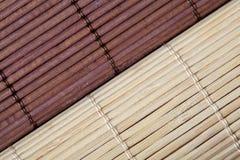 Bamboo циновки стоковое изображение rf