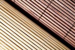 Bamboo циновки стоковые фото