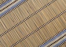 bamboo циновка Стоковая Фотография