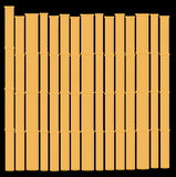 Bamboo. Vectorial image of yellow even bamboo stock illustration