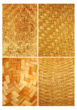 Bamboo. The work weaves the bamboo Stock Photo
