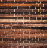 Bamboo. Texture background bound together in a pattern Stock Photos