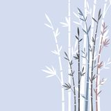 Bamboo. Colored vector illustration of bamboo trees royalty free illustration