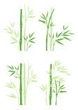 Bamboo. Set of asian symbol bamboo vector illustration Please visit my portfolio to see more chinese style illustrations