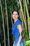 Bamboo Backdrop stock photo