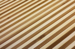 Bamboo background. Two colors striped bamboo background Stock Photos
