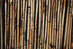 Bamboo background. Abstract bamboo background. shabby bamboo texture closeup Stock Photos
