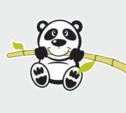 Bamboo background. Vwctor bamboo background for Panda Stock Images