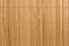 Bamboo background. Bamboo brown striped textured background Royalty Free Stock Photos