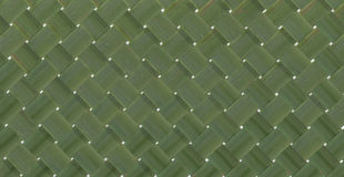 Bamboo background. Background pattern weaving bamboo green Royalty Free Stock Photo