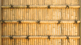 Bamboo background. Traditional Japanese bamboo wall background Stock Images