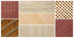 Bamboo backgrounds Royalty Free Stock Photos