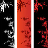 Bamboo Banners Royalty Free Stock Photos