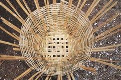 Bamboo basket Royalty Free Stock Photos