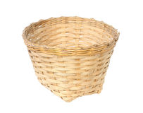 Bamboo basket Stock Photo