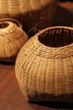 Bamboo basket Royalty Free Stock Photo