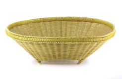 Bamboo basket Stock Photos