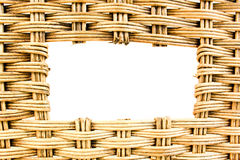 Bamboo basket Royalty Free Stock Images
