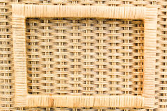 Bamboo basket. Art bamboo basket handmade from Thailand Royalty Free Stock Photos