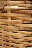 Bamboo Basket, Bamboo weave pattern Stock Photography