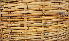 Bamboo Basket, Bamboo weave pattern Stock Photos