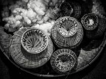 Bamboo Basket Creel Fish Royalty Free Stock Photos