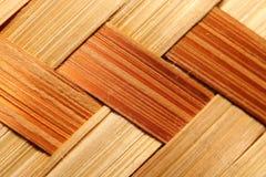 Bamboo basket detail Royalty Free Stock Photos