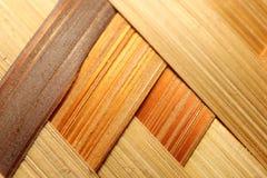 Bamboo basket detail Royalty Free Stock Photo