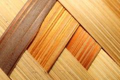 Bamboo basket detail Stock Photography
