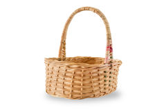 Bamboo Basket Royalty Free Stock Images