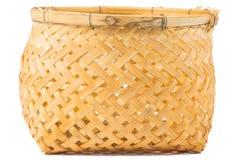 Bamboo basket handmade Royalty Free Stock Photos