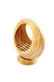 Bamboo basket isolated o Stock Photo