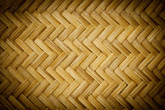 Bamboo basket making in thailand Stock Image