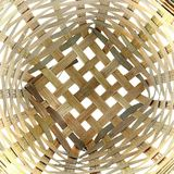 Bamboo Basket Pattern Royalty Free Stock Photography