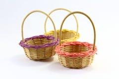 Bamboo Basket Royalty Free Stock Photography
