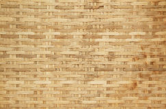 Bamboo basket weave pattern Stock Photos