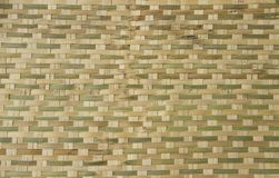 Bamboo basket weave pattern. As natural background Royalty Free Stock Photography