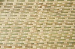 Bamboo basket weave pattern. As natural background Royalty Free Stock Photos