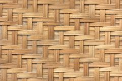 Bamboo basket weave pattern  texture background. Background and Royalty Free Stock Images