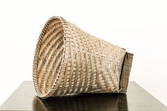 Bamboo basket Stock Photography