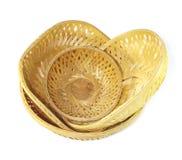 Bamboo baskets Stock Photography
