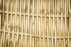 Bamboo basketwork texture and background. Stock Images