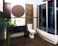 Bamboo bathroom Royalty Free Stock Photos