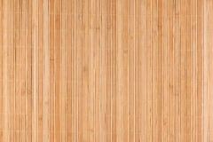 Bamboo beige mat as abstract texture, background, composition. View from above Stock Images